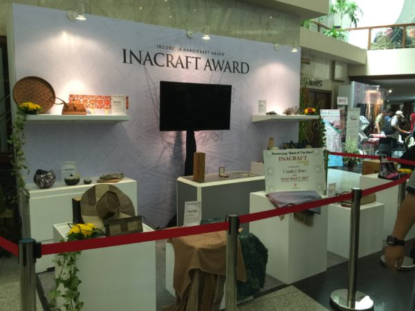 Display products at Inacraft 2016 -Main Lobby JCC